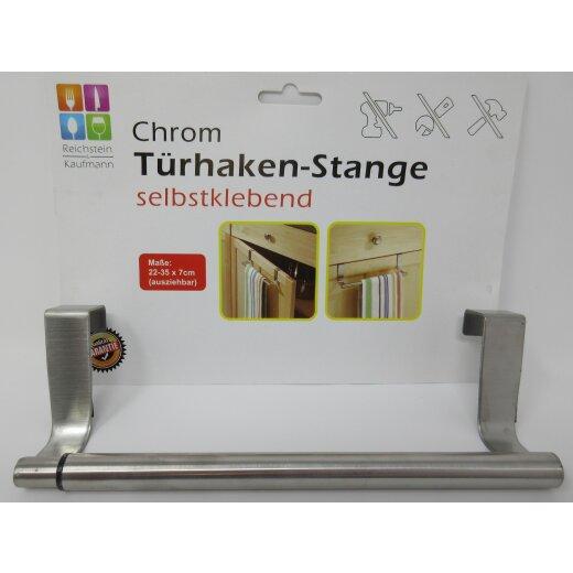 Türhaken-Stange Handtuchhalter Schubladenanhänger Teleskopstange für Küche  & Bad
