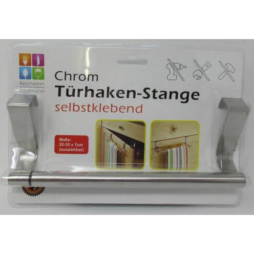 Handtuchhalter Schrank- Schubladenanhänger für Küche & Bad 22 bis 35 cm  Chrom